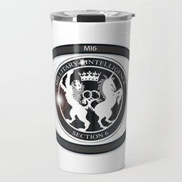 MI6 Oval Badge (Millitary Intelligence Section 6) Travel Mug