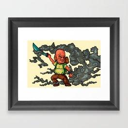 Lost Character- John Locke Framed Art Print
