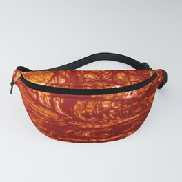 Red Fury Fanny Pack