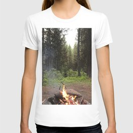 Backpacking Camp Fire T-shirt