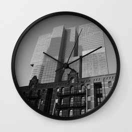De Rotterdam | Rem Koolhaas OMA Architects #architecture Wall Clock