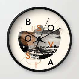 Bossa Nova Wall Clock