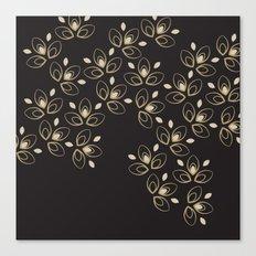 Dark Blossoms Canvas Print