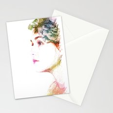 The Colors Of Her Heart Stationery Cards