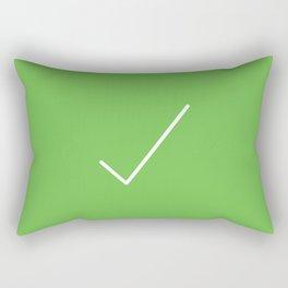 approve Rectangular Pillow