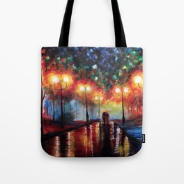 Ted and Tracy Mosby Tote Bag