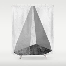 Solid marble II Shower Curtain