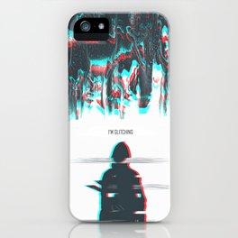 I'M GLITCHING iPhone Case