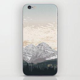 Maroon Bells iPhone Skin