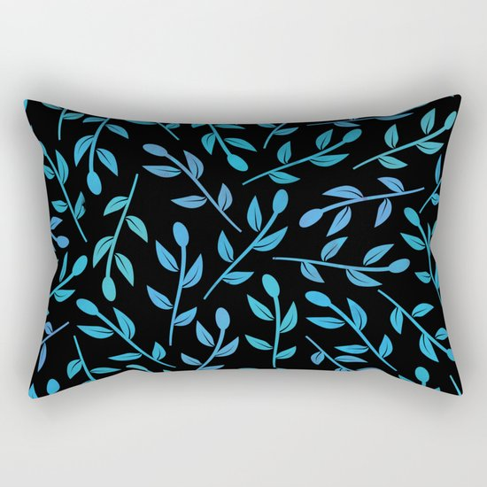 Colorful Leaves XI Rectangular Pillow