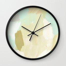 Aqua Islands Wall Clock