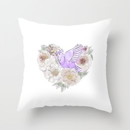 Bird of Paradise #2 Throw Pillow