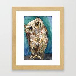 Shy Guy Framed Art Print