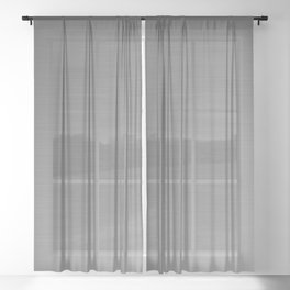 Smooth Sheet Metal Dull Ombre Texture Graphic Design Sheer Curtain