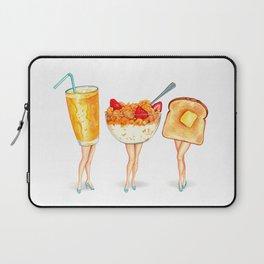 Breakfast Pin-Ups Laptop Sleeve