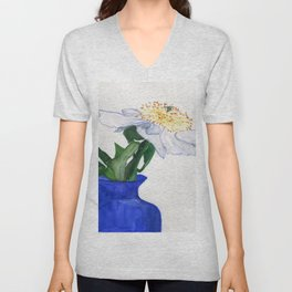 Unassuming Beauty Unisex V-Neck