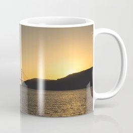 Golden Gate From The Sea Coffee Mug