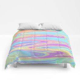 Liquid Iridescent Comforters