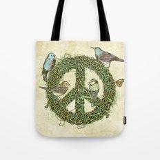 Peace Talks Tote Bag