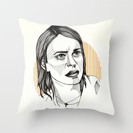 OITNB | Pennsatucky Throw Pillow