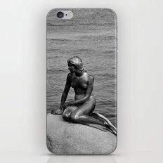 Little Mermaid, Copenhagen, Denmark. iPhone & iPod Skin