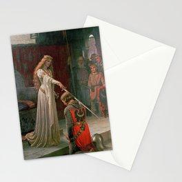 Accolade by Edmund Blair Leighton Stationery Cards