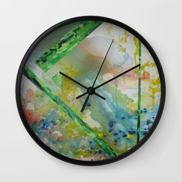 Alien Touchdown Wall Clock