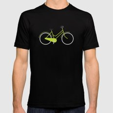 Bike Mens Fitted Tee MEDIUM Black