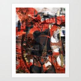 Bushwick Garage Art Print