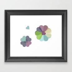 Heartflowers1 Framed Art Print