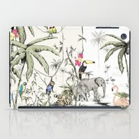 jungle iPad Cases featuring Jungle by Annet Weelink Design