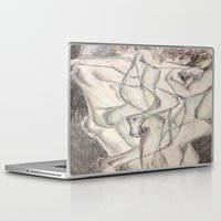 cuddle Laptop & iPad Skins featuring Cuddle  by Melissa Roberts