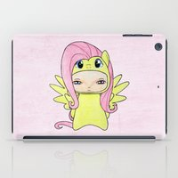mlp iPad Cases featuring A Boy - Fluttershy by Christophe Chiozzi