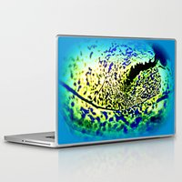 alien Laptop & iPad Skins featuring alien by  Agostino Lo Coco