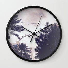 Come with Me Wall Clock