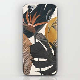 Abstract Tropical Art III iPhone Skin