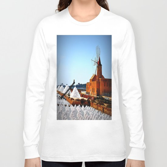 salines (Trapani Sicily) Long Sleeve T-shirt
