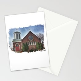 Christ Church in Moline, Illinois Stationery Cards