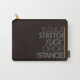 POKE STRETCH TUCK DROP STANCE v4 HQvector Carry-All Pouch