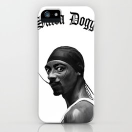 Salva Dogg iPhone Case