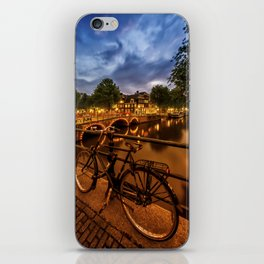 AMSTERDAM Evening impression from Brouwersgracht iPhone Skin