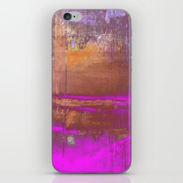 Pink Color Patches iPhone Skin