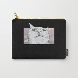 Crazy Cat Gift Cats Lover Ugly Cat Carry-All Pouch