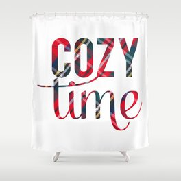 Cozy Time Shower Curtain