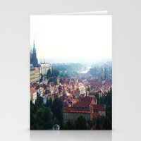 prague Stationery Cards featuring Prague by Fallon Chase