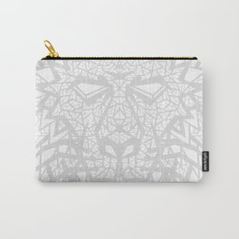 Heart of a Lion - Gray Carry-All Pouch