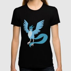 Articuno Black Womens Fitted Tee LARGE