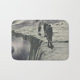 Tectonic Shift - collage Bath Mat
