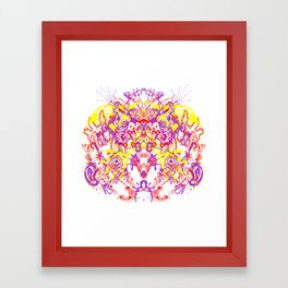 hands to the sky Framed Art Print