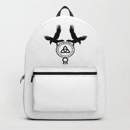 Norse Ravens - Celtic Knot Backpack